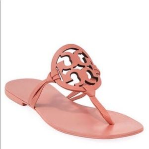 NEW Tory Burch Miller Square Toe Miller Sandals